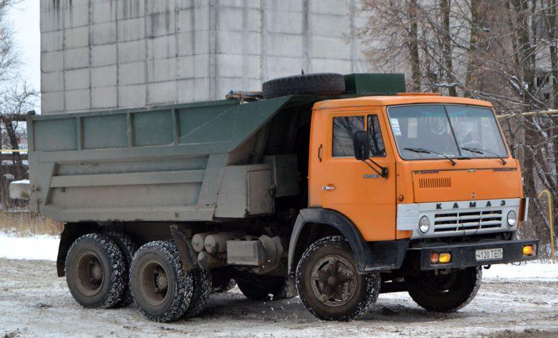 Photos of the KamAZ-5511
