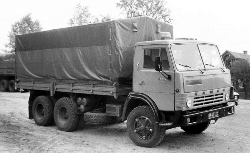 Auto Kamaz-5320 1980