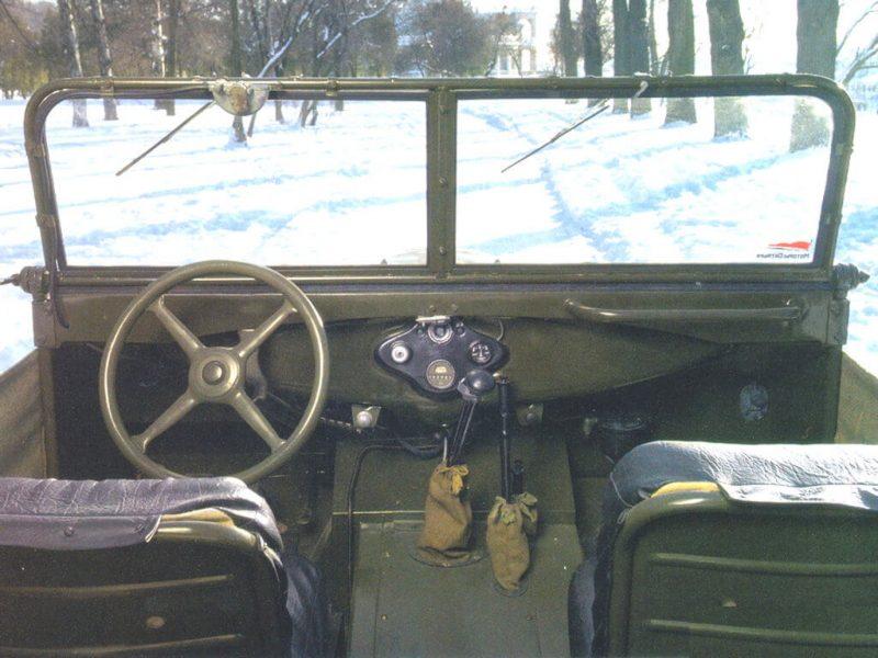 GAZ-67 salon