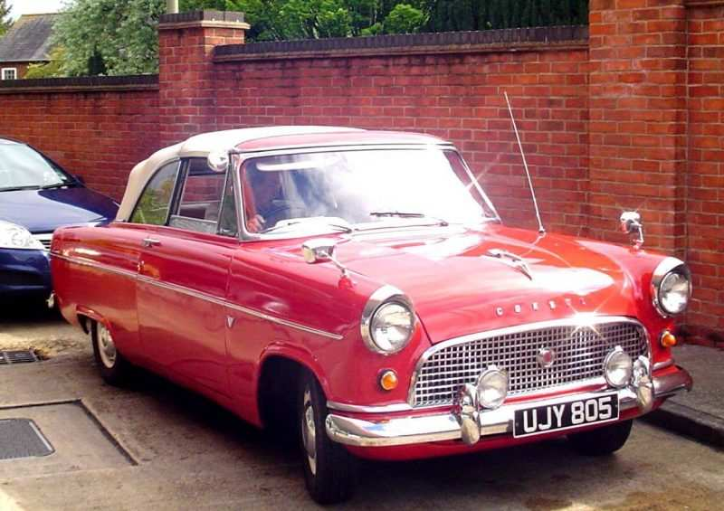 Photo of a Ford Consul