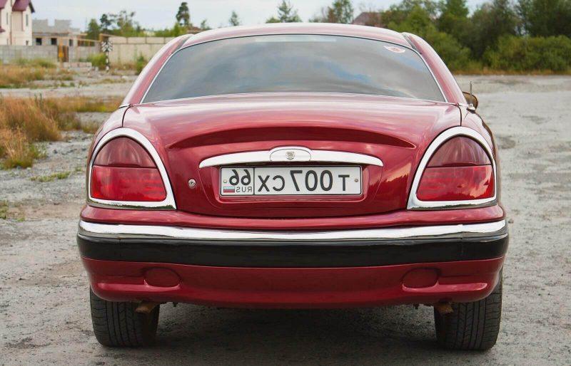 Volga-3111 rear view