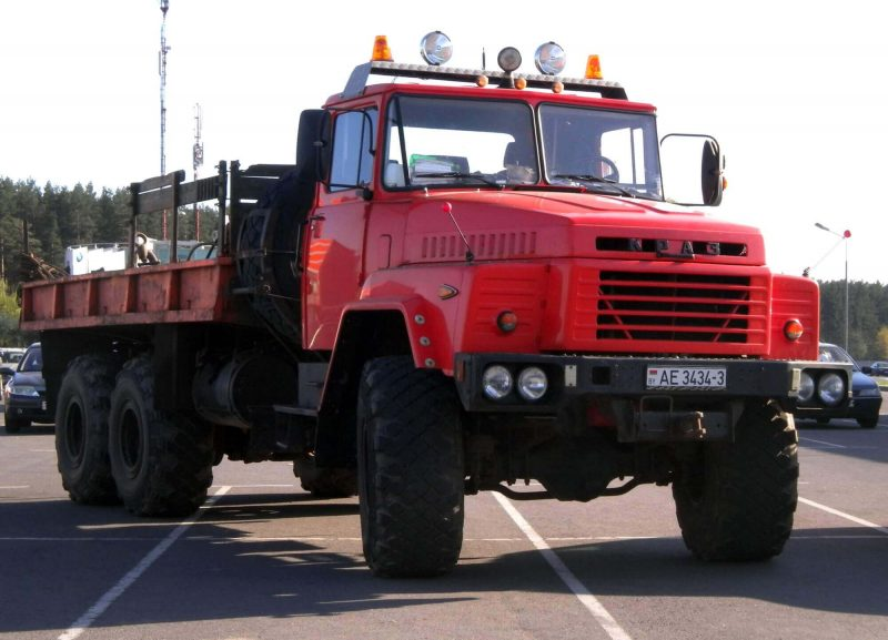 Front view of KrAZ-260