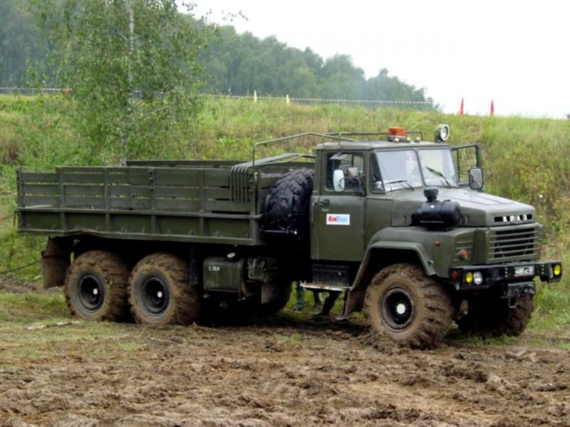 KrAZ-260 photo of the onboard