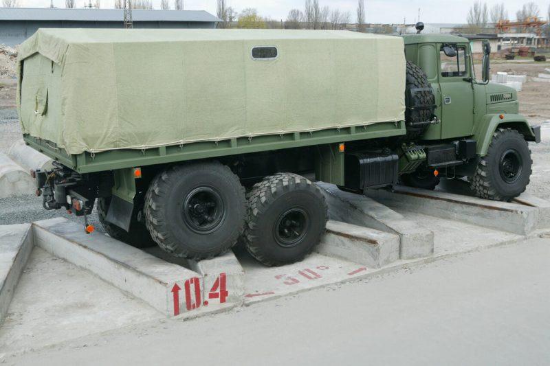 KrAZ-6322 side view