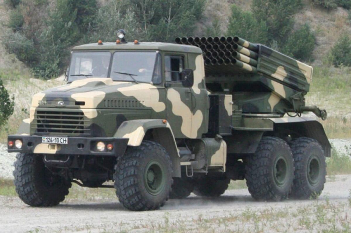 KrAZ-6322 Grad system