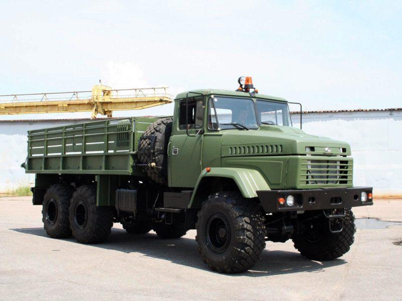 KrAZ-6322 onboard