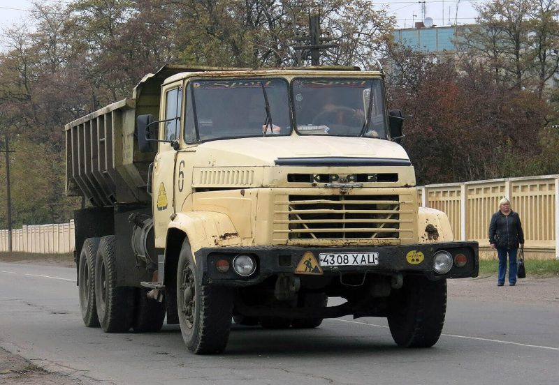 Auto KrAZ-6510