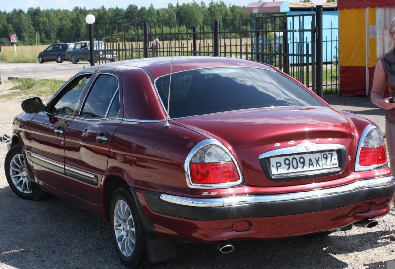 GAZ-3111 rear view