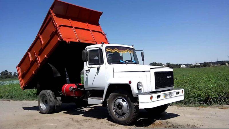 GAZ-3307 dump truck