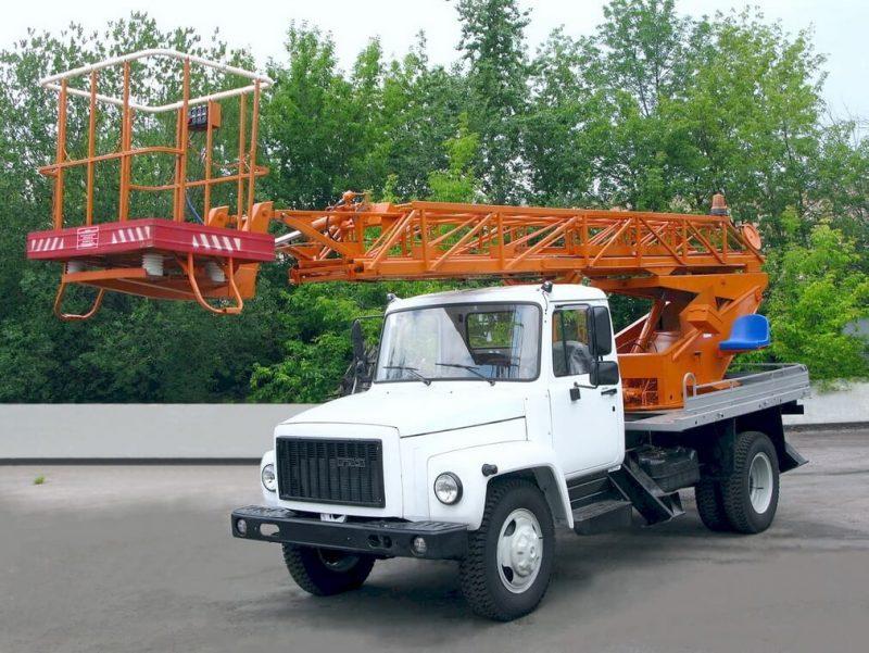 GAZ-3307 autotower