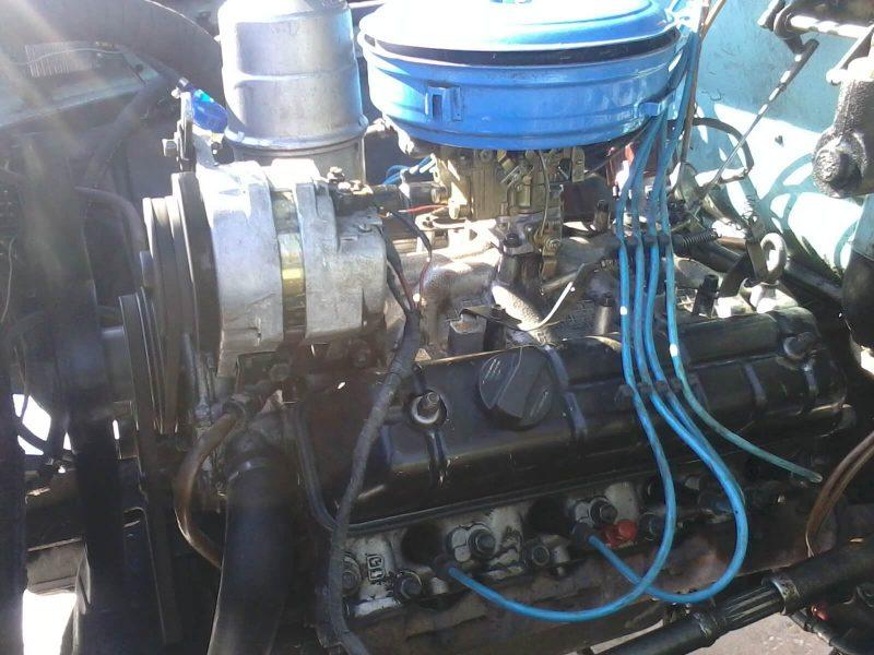 GAZ-3307 engine