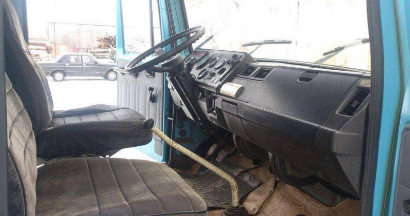 GAZ-3307 cabin salon