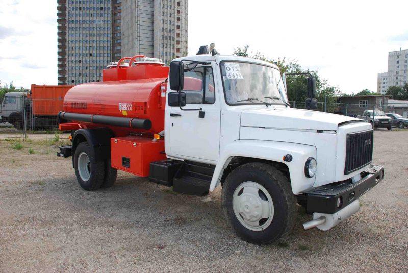 GAZ-3309 petrol tanker