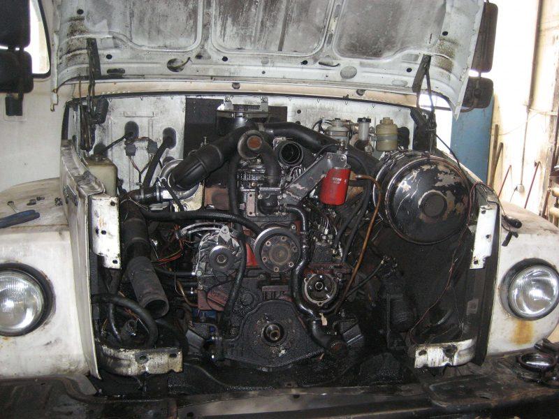 GAZ-3309 engine