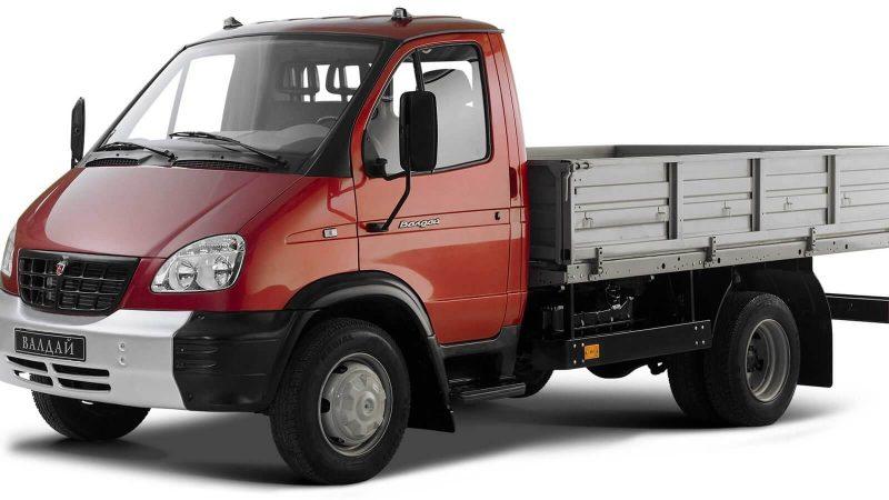 GAZ-3310 flatbed truck