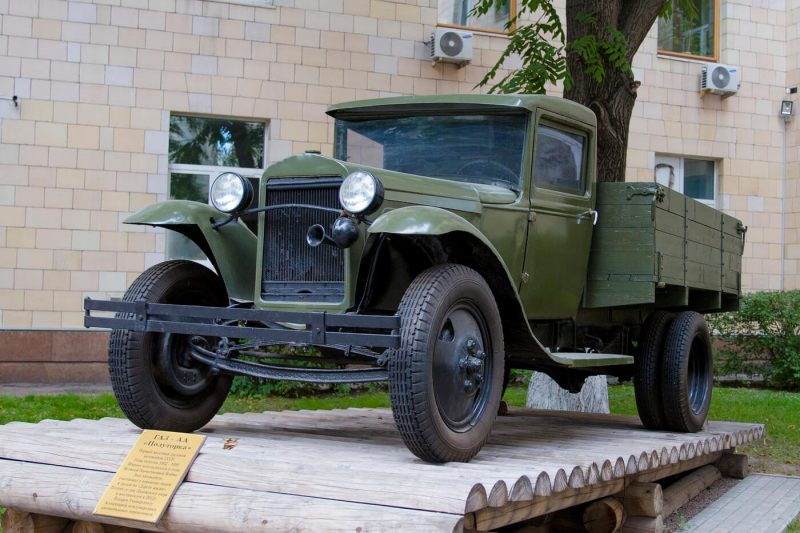 GAZ-AA photo of a car