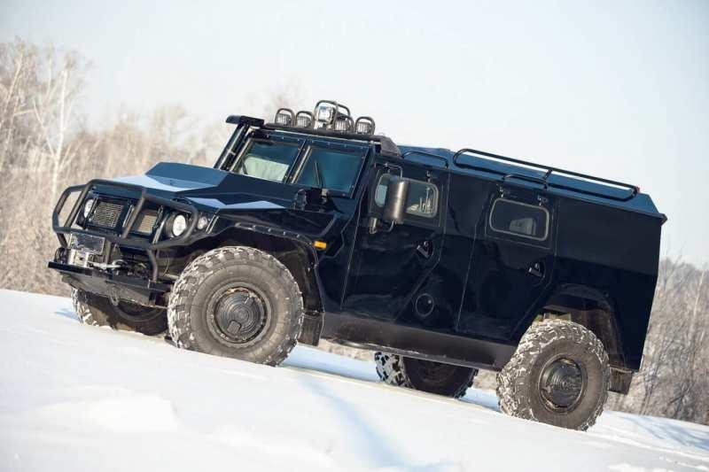 Civilian version of the SUV