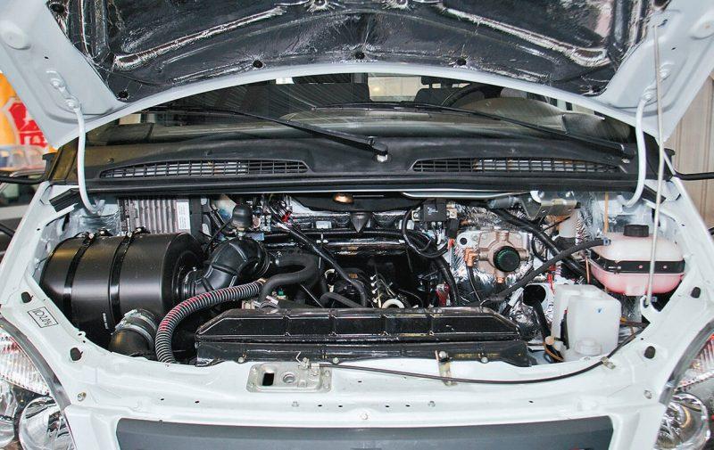 GAZ-Valday engine