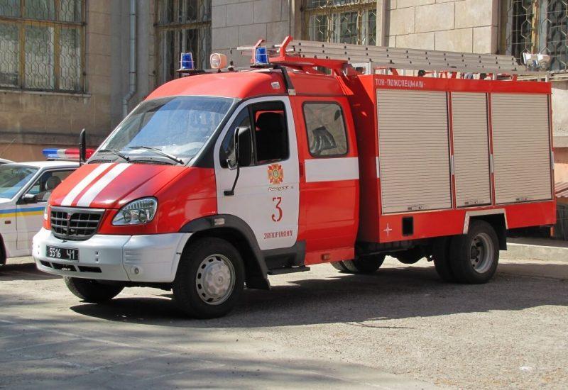 GAZ-3310 fire truck