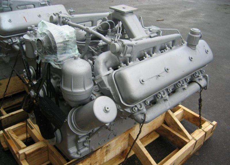 YaMZ-238M2 engine