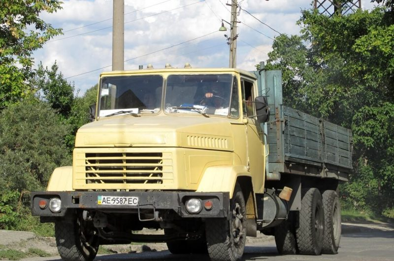 Front view of KrAZ-250