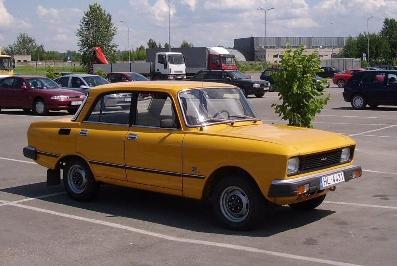 Photo of the car Moskvic-2140