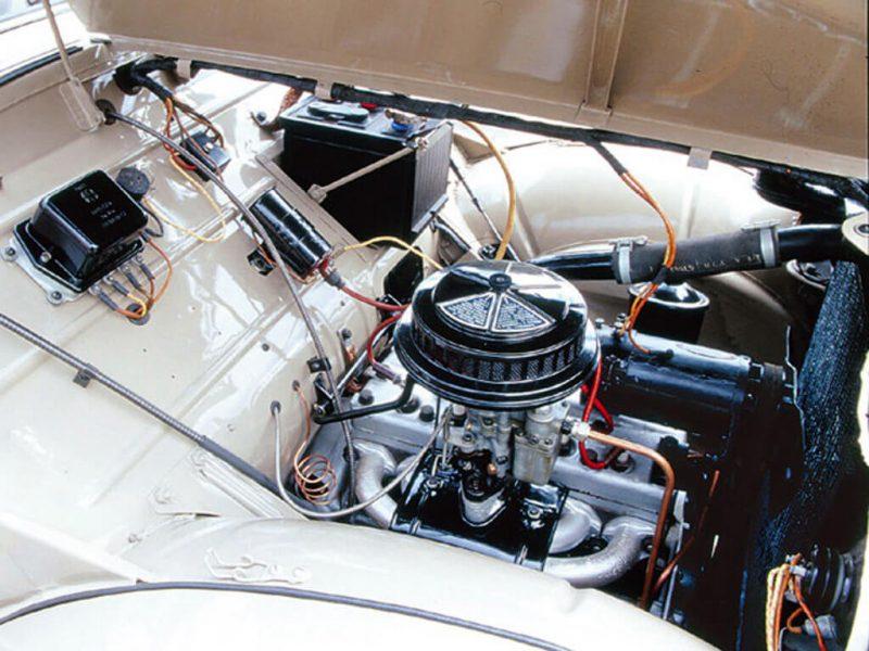 Moskvich-400 engine