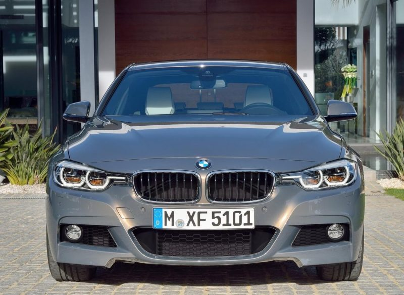 Front view of the BMW 3-Series