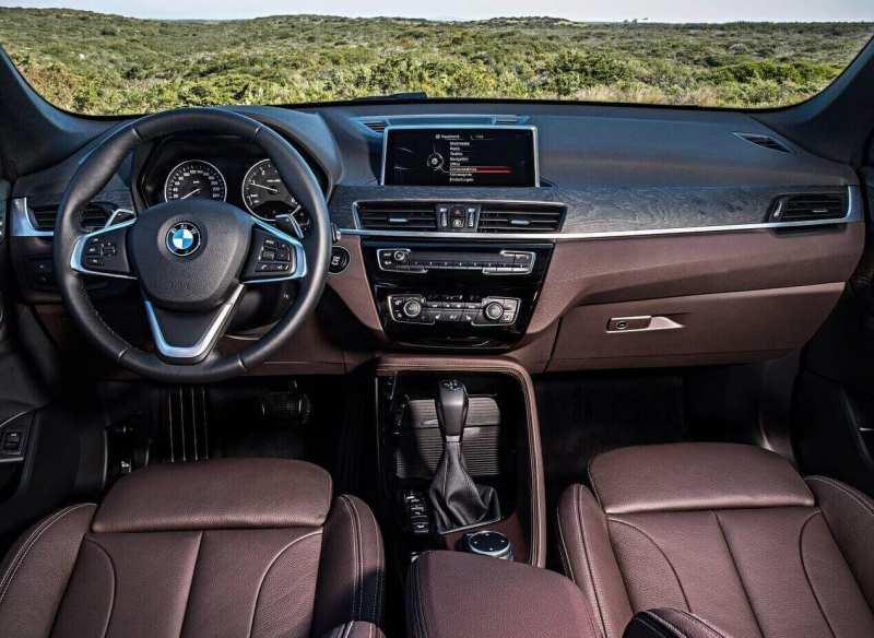 BMW X1 interior