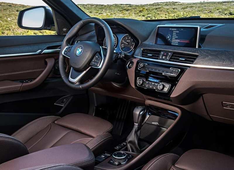 BMW X1 salon
