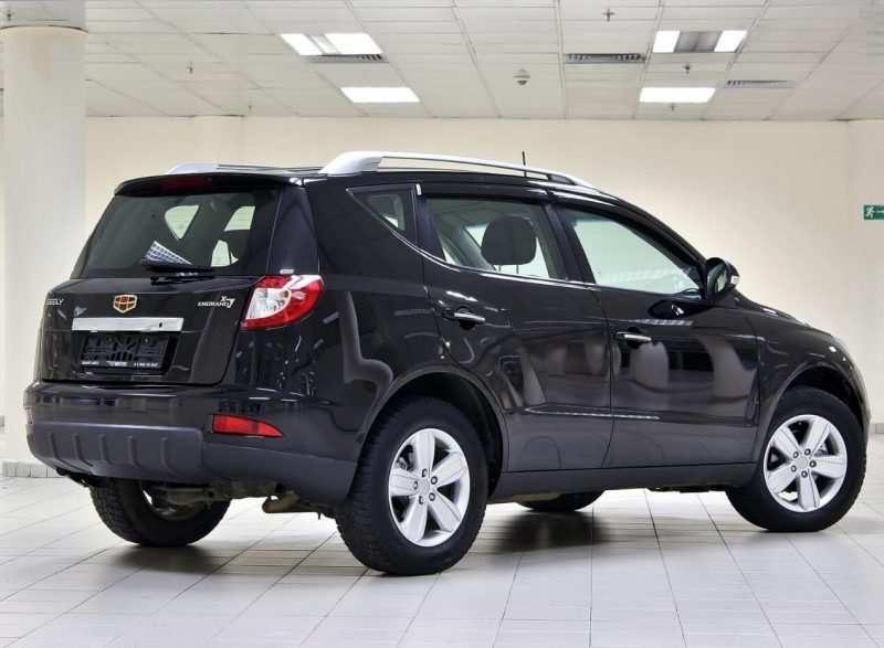 Geely Emgrand X7 photo car