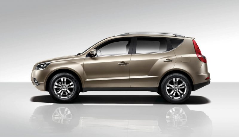 Side view Geely Emgrand X7