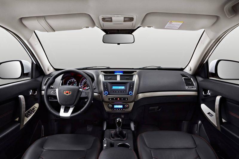 Geely Emgrand X7 interior