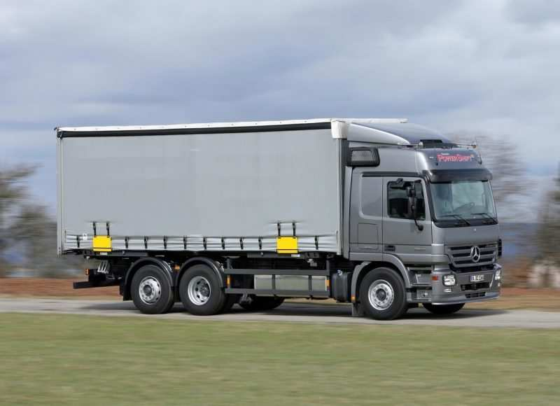 Photo Mercedes-Benz Actros second generation