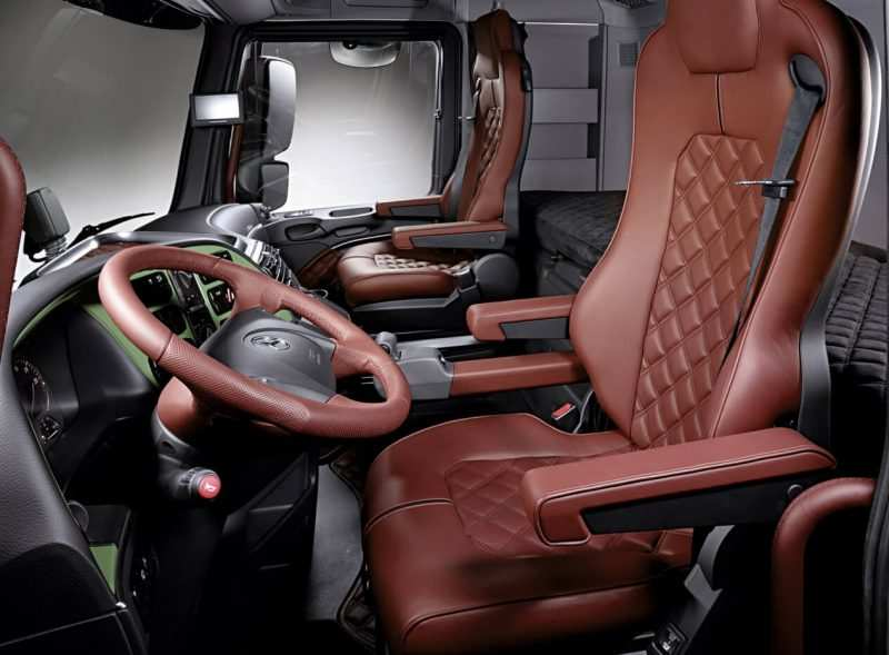 Interior Mercedes Benz Actros