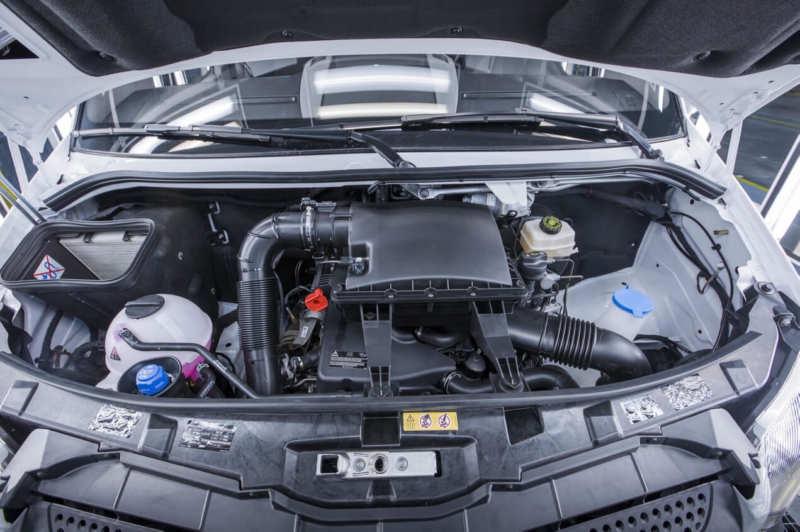 Mercedes-Benz Sprinter Worker engine