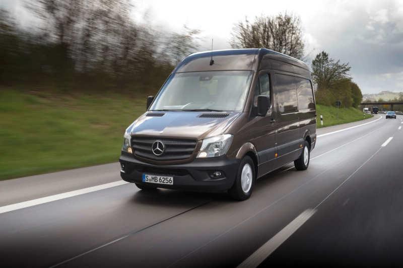 Photo of the new Mercedes-Benz Sprinter