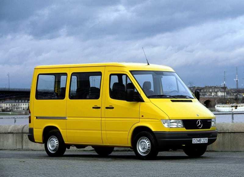 First generation Mercedes-Benz Sprinter minibus