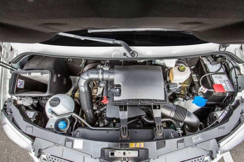 Mercedes-Benz Sprinter City engine