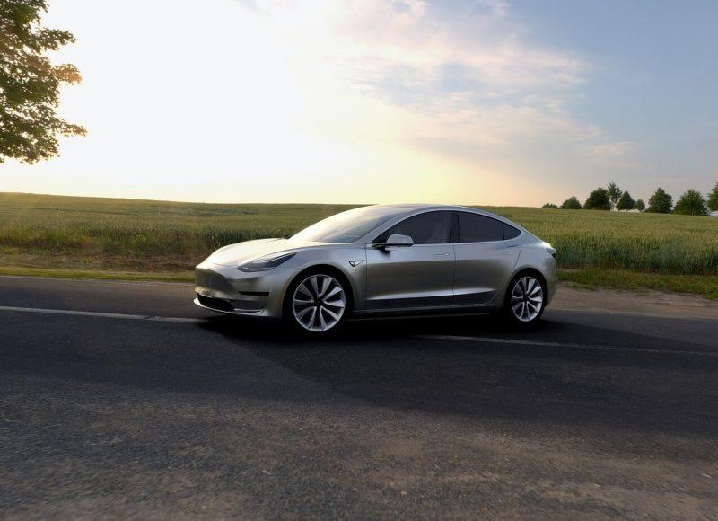 Tesla Model 3 photo auto