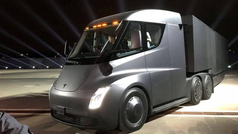 New Tesla Semi truck