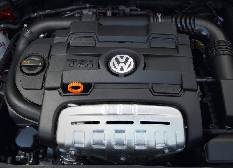 Gasoline engine Golf 6