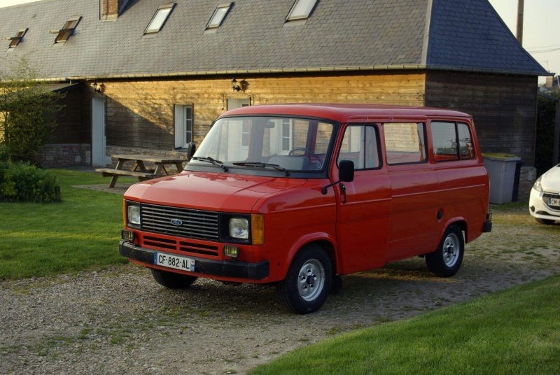 Auto Ford Transit 1978