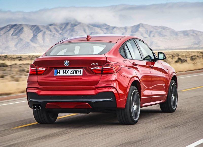 BMW X4 rear view