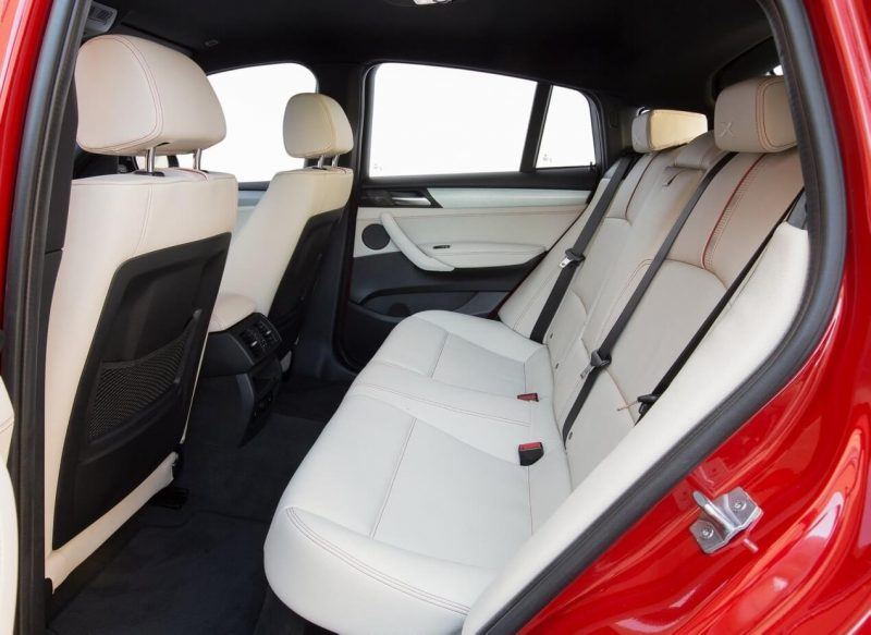 Back seats BMW X4