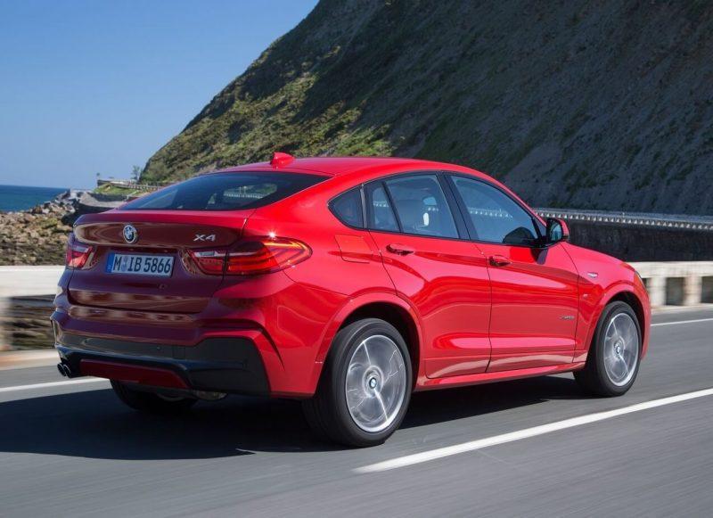 BMW X4 crossover photo