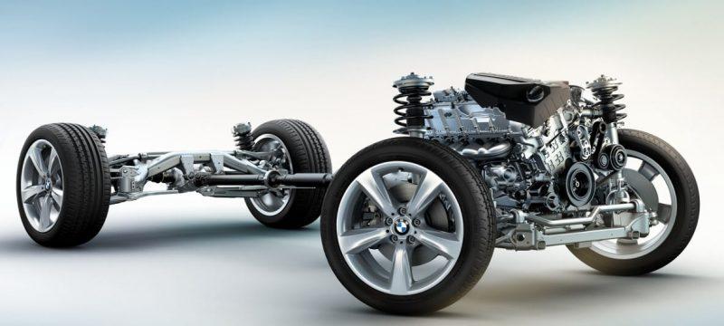 BMW X4 suspension