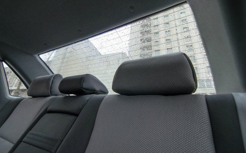 Daewoo Gentra rear sofa