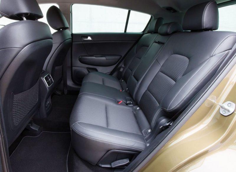 Rear seats KIA Sportage 4