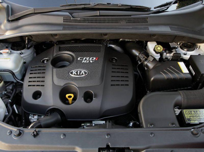 2004 KIA Sportage engine